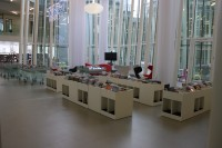 PVC dans bibliothèque publique