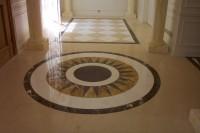 Mosaïque de marbre