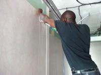 Soudure à chaud PVC mural système douche